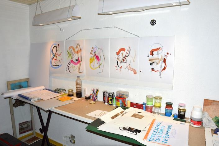 atelier calligraphie Espalion