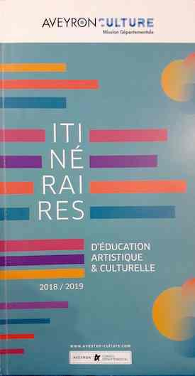 Itinéraire éducation culturelle artistique Aveyron