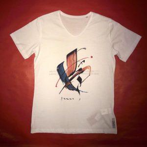 Tee-shirt col V MONDE