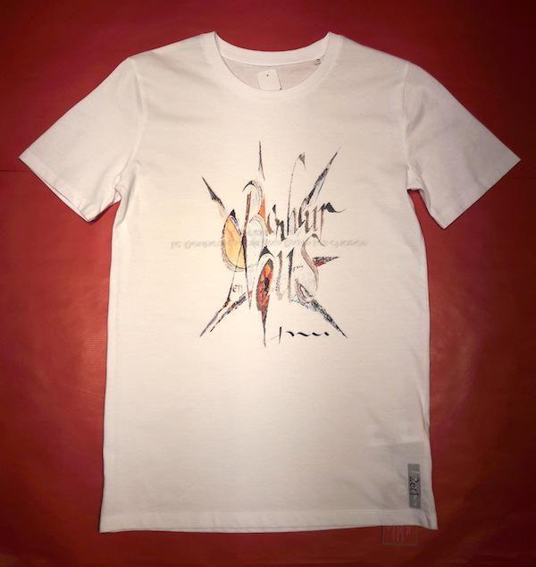 Tee-shirt col rond BONHEUR