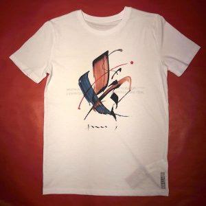 Tee-shirt col rond MONDE