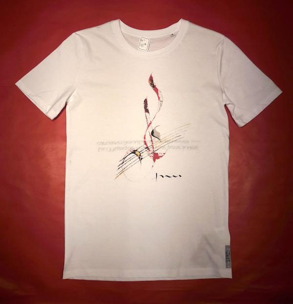 Tee-shirt col rond MUSIQUE