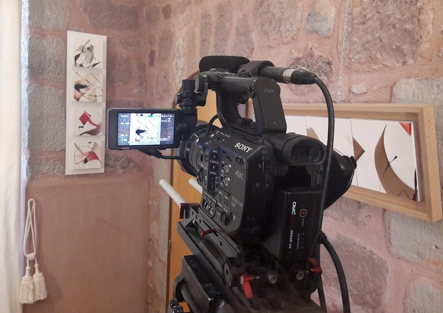 Vidéos de l'exposition au Vieux Palais