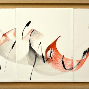 Danse Triptyque N°1 (35x81)