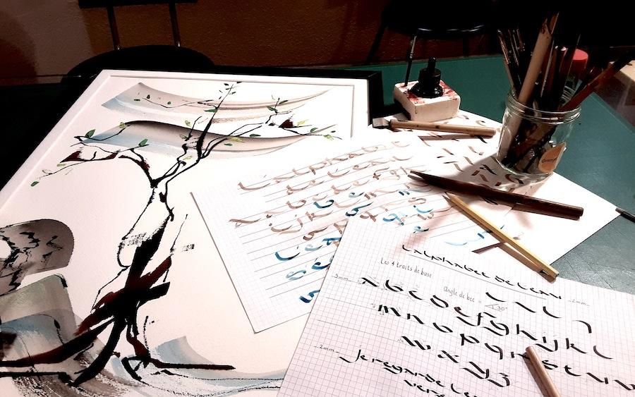 Tout un programme calligraphie